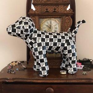 Victoria secret pink large checkered dog
